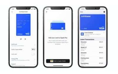 Use your Coinbase Debit Card with Google Pay™ and Apple Pay®